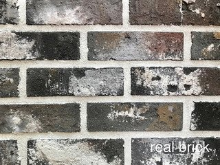 REAL BRICK. RB 4-13 antic глина античная графитовая Плитка: 200*60*12 0,65(44шт)