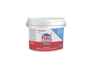 Декоративная штукатурка Perel Silicio (Шуба/Короед; 1,5/2/2,5 мм), 18 кг