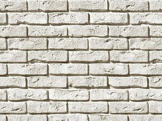 Декоративный камень White Hills «Лондон брик» 300-00 (London brick), белый, плоскостной, Нормативная