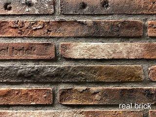 REAL BRICK. RB 7-04 antic глина античная бордовая Плитка: 440*50*20 0,54(20шт)