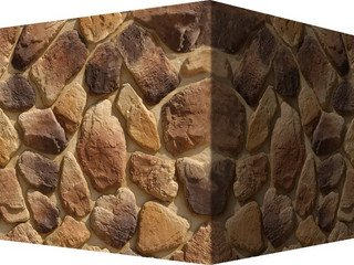 "605-45 White Hills ""Хантли"" (Huntly), коричневый, угловой, Нормативная ширина шва 1,5-2,5 см."
