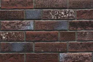 Клинкерная плитка фасадная Stroher 377 platinbraun 14 мм