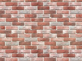 "302-70 White Hills ""Лондон брик"" (London brick), красно-белый, плоскостной, Нормативная ширина шва 1"