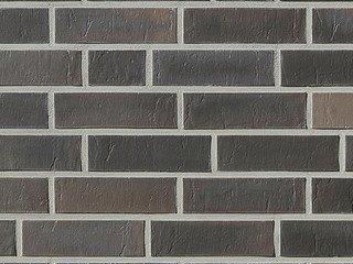 Клинкерная плитка фасадная Röben CHELSEA Базальтовый пестрый рифленый NF14