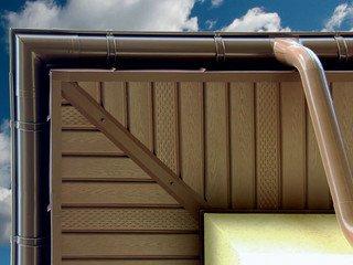 Наружный угол 3м BUDMAT светло-коричневый