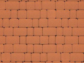 Тротуарная плитка ARTSTEIN Инсбрук Альт оранжевый, 40 мм
