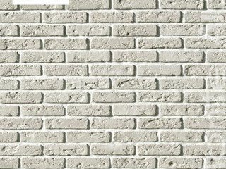 "А320-00 Декоративный камень White Hills ""Монте Альба"" (Monte Alba), Эллин Брик, белый"