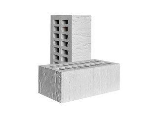 Кирпич керамический лицевой Красная Гвардия, Белый CORTEX 1,4НФ
