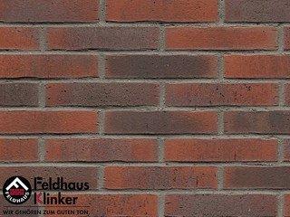 Плитка дляфасада Feldhaus Klinker R743DF14 vascu carmesi flores