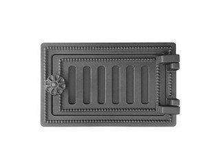 Дверца поддувальная Везувий ДП-2, (180х290) 140х250 (Антрацит)