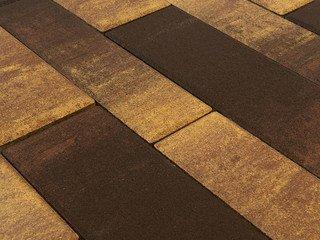 Тротуарная плитка BRAER Домино, Color Mix Сафари