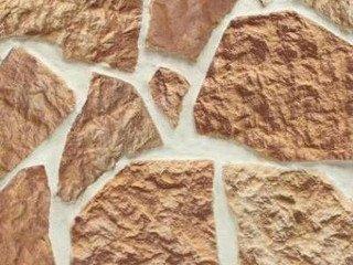 Клинкерная плитка фасадная Плитняк прямая классик/разноцвет Терракот Рядовая x толщина
