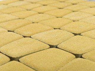 Тротуарная плитка BRAER Классико круговая, Песочный