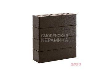 Клинкер фасадный ЛСР Обсидиан «Рейкьявик» черный гладкий глянцевый 1