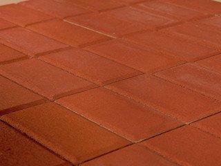 Тротуарная плитка BRAER Прямоугольник Красный, 40 мм