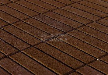 Тротуарная плитка BRAER Прямоугольник Коричневый, 60мм 1