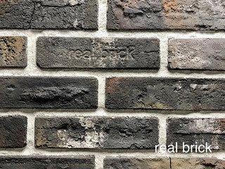 Плитка ручной формовки Real Brick RB 6-13 antic глина античная графитовая