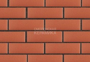 Клинкер фасадный ЛСР «Лондон» красный гладкий 3
