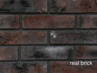 REAL BRICK. RB 2-09 Чёрный магнезит Плитка: 240*60*15 0,63(36шт)