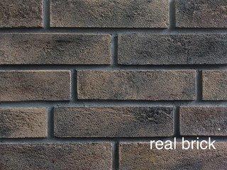 REAL BRICK. Кирпич ручной формовки RB КР/0,5ПФ RB 05 коричневый