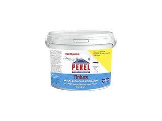 Высококачественная фасадная моющаяся акриловая краска Perel Tintura, 14 кг