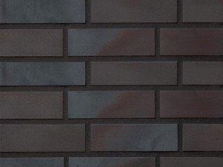 Клинкерная плитка фасадная Stroher 336 metallic black 11 мм