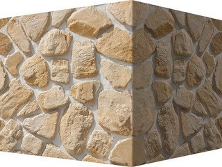 "606-25 White Hills ""Хантли"" (Huntly), светло-песочный, угловой, Нормативная ширина шва 1,5-2,5 см."