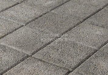 Тротуарная плитка BRAER Лувр, Гранит серый 1