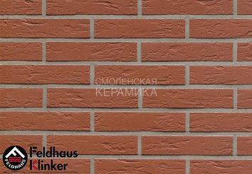 Клинкерная плитка для фасада Feldhaus Klinker R440DF9 1
