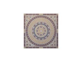 Мозаика клинкерная (на сетке) Ecoclinker Round/Круг (1х1м)