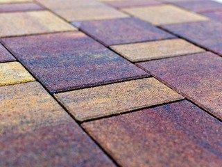 Тротуарная плитка Braer Старый город Ландхаус Color Mix Мальва 60