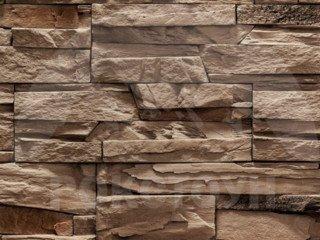 """РокСтоун """"Каменное плато"""", коричневый, рядовой, без шва"""