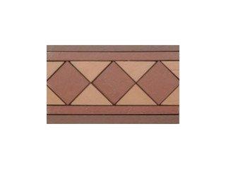 Подступенник мозаичный из клинкера (на сетке) Square/Квадрат Ecoclinker