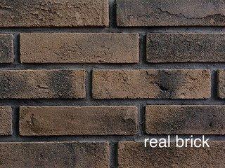 REAL BRICK. Кирпич ручной формовки RB КР/0,5ПФ угловой RB 02 осиновый