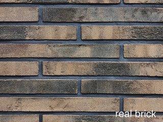 REAL BRICK. Кирпич ручной формовки RB КР/0,5ПФ РИГЕЛЬ RB 05 коричневый