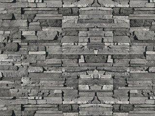 "208-80 White Hills ""Фьорд Лэнд"" (Fjord Land), черно-серый, плоскостной, без шва"
