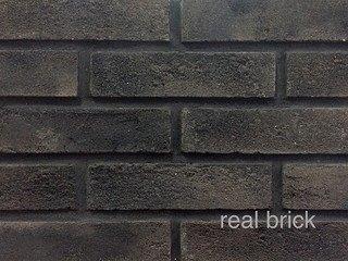 REAL BRICK. Кирпич ручной формовки RB КР/0,5ПФ RB 11 умбра
