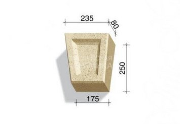 730-01 Замковый камень Z1 1