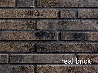 REAL BRICK. Ригельный кирпич RB 1-02 Осиновый Плитка: 300*40*15 0,7(45шт)