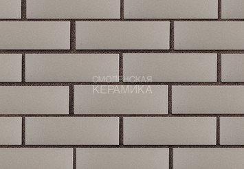 Кирпич лицевой керамический ЛСР Серый гладкий, 1НФ 4
