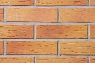 Клинкерная плитка фасадная 405 amsterdam Stroeher Рядовая 71x240 толщина 11