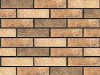Фасадная термопанель рядовая АЛЯСКА 29. Loft brick masala, 40 мм