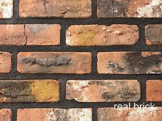 REAL BRICK. Кирпич ручной формовки RB КР/ 0,5 ПФ угловой antic RB 10 antic глина античная кирпичная