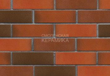 Клинкер фасадный ЛСР «Ноттингем» красный флэш гладкий 2