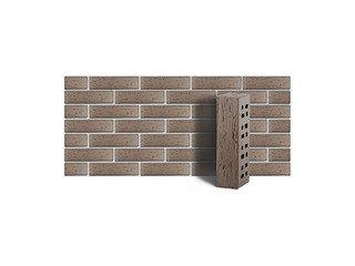 Клинкер фасадный ЛСР «Стокгольм» серый береста