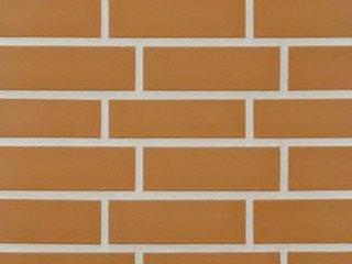 Клинкерная плитка фасадная--- 320 sandgelb Stroeher Рядовая 71x240 толщина 11