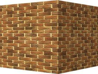 "308-45 White Hills ""Бремен брик"" (Bremen brick), темно-коричневый, угловой, Нормативная ширина шва 1"