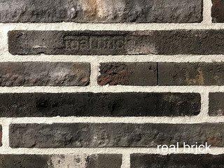 REAL BRICK. Кирпич ручной формовки RB КР/0,5ПФ РИГЕЛЬ antic RB 13 antic глина античная графитовая