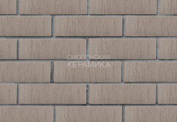 Кирпич лицевой керамический ЛСР Серый тростник, 1НФ 3