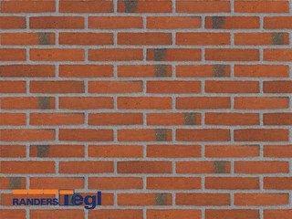Кирпич печной полнотелый ручной формовки Randers Tegl RT 406 rotbunt handstrichziegel